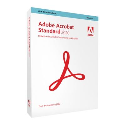 【超值5入組】Adobe Acrobat Standard 2020 商業盒裝完整版 (Windows永久授權版)