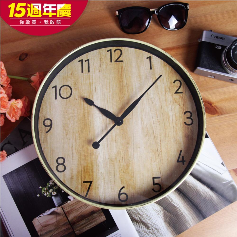 TROMSO復古木質時鐘限時限量特賣 @ Y!購物