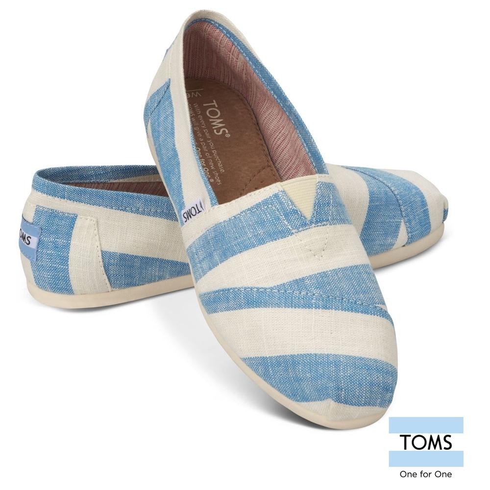 [時時樂限定] TOMS熱暢經典休閒懶人鞋-女鞋 (共三款)