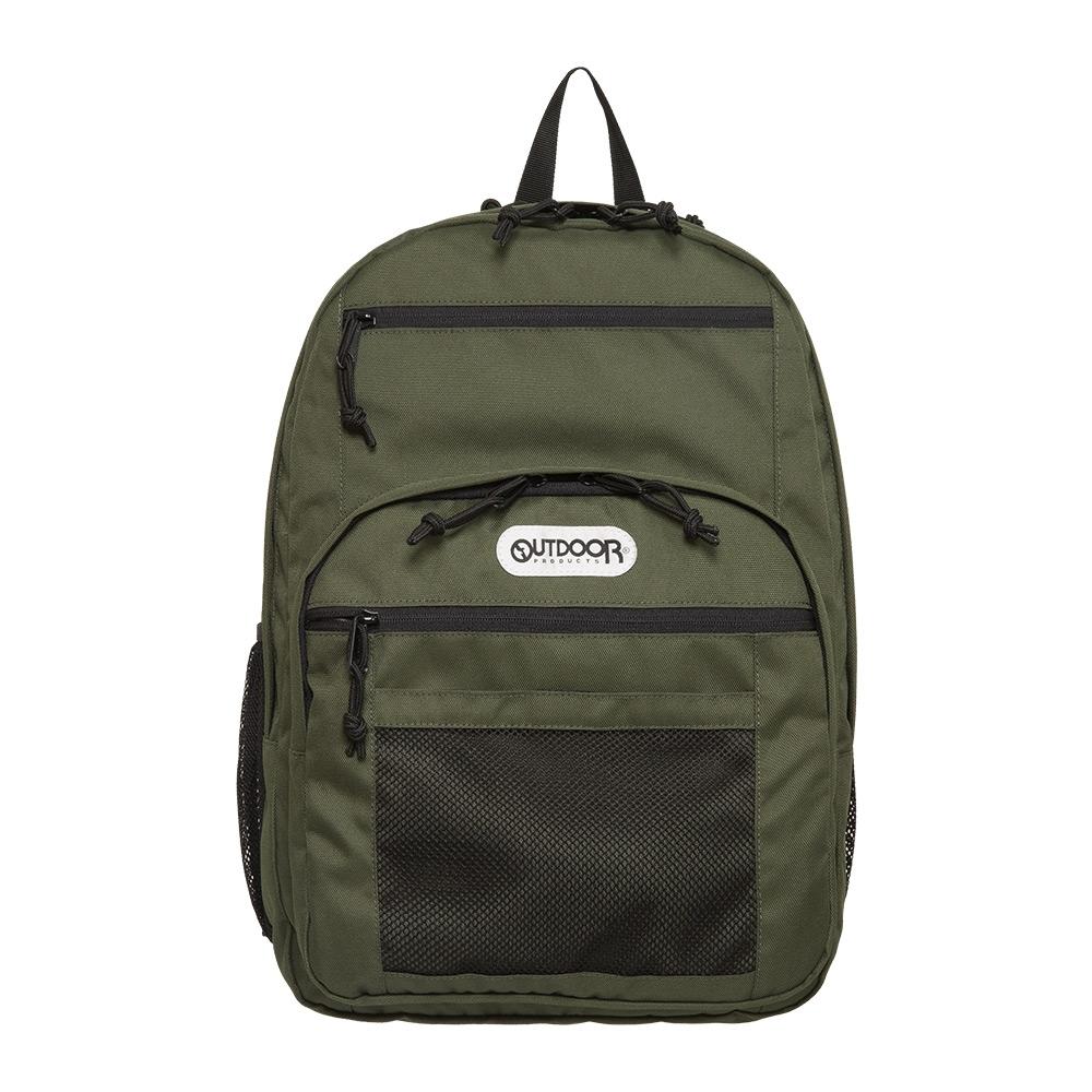 【OUTDOOR】率性學院-後背包-橄欖綠 OD291102OE