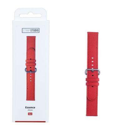 SAMSUNG Galaxy Watch  專用錶帶Braloba Essence 皮革錶帶(20mm) --紅色