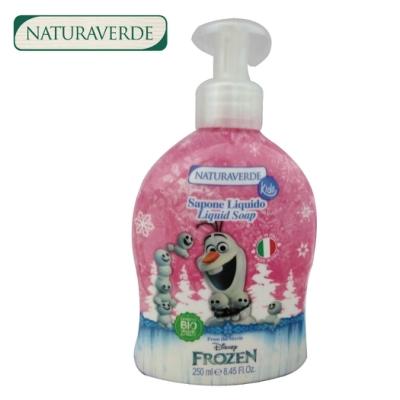 自然之綠-冰雪奇緣兒童洗手露/沐浴露250ML