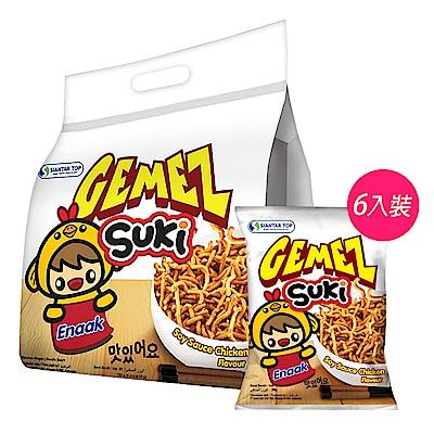 SUKI韓式小雞麵12袋6入袋