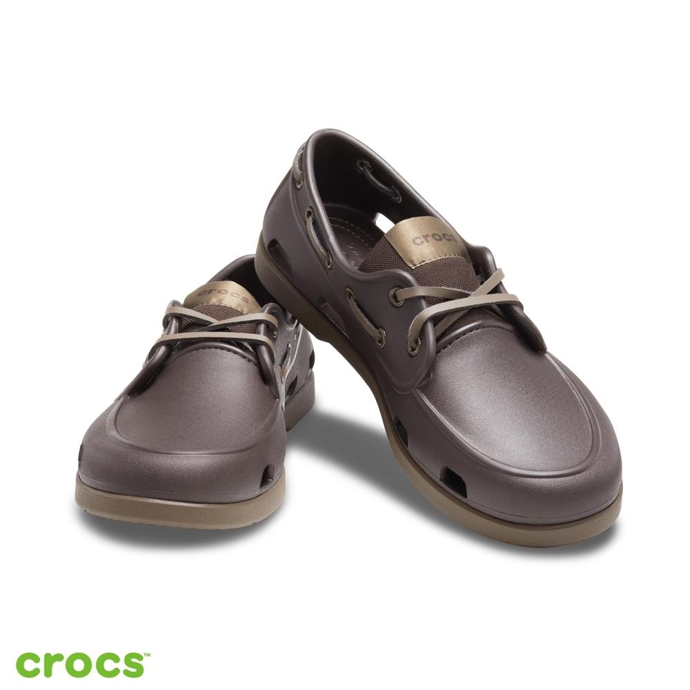 Crocs 卡駱馳 (男鞋) 經典男士船鞋-206338-23B