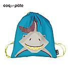 【COQENPATE】法國有機棉無毒環保布包 - 童趣輕鬆包- 鯊魚