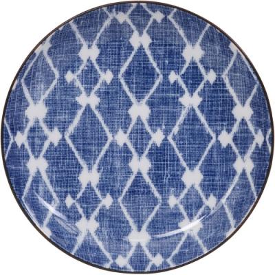 《Tokyo Design》和風餐盤(菱紋藍15.5cm)