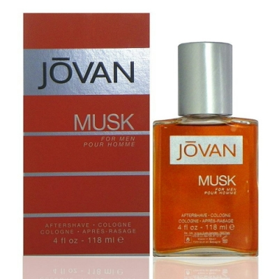 Jovan Musk For Men After Shave 麝香男性鬍後水118ml