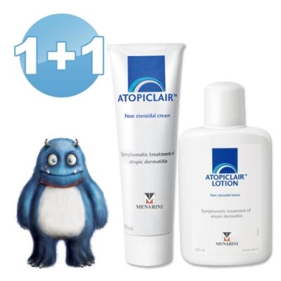 ATOPICLAIR愛妥麗 保濕敷料Cream乳霜(100ml×1)+Lotion乳液(120ml×1)