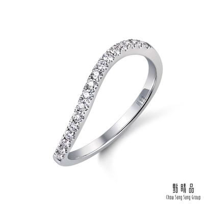 (送5%超贈點)點睛品 Promessa 17分 18K金 星宇系列 鑽石戒指/線戒