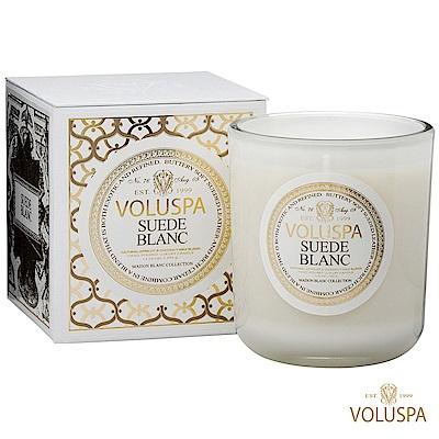 美國香氛VOLUSPA 白屋系列 Suede Blanc 布蘭克絨 340g