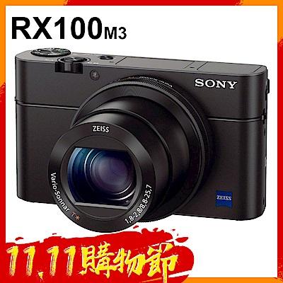 SONY RX100III (RX100 M3) 大光圈WiFi類單機 (公司貨)