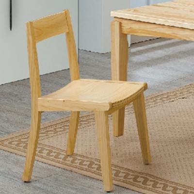 H&D 紐松木809型餐椅