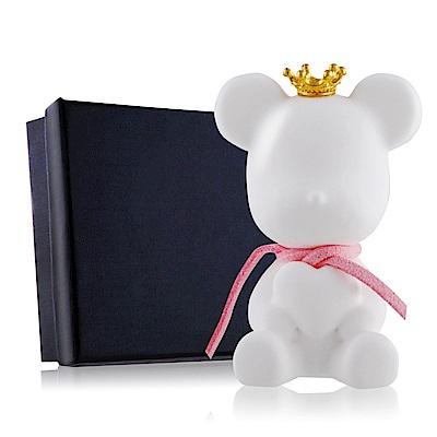 OPretty 歐沛媞 室內/車用 香氛擴香石掛飾-粉色彩繩皇冠抱心熊