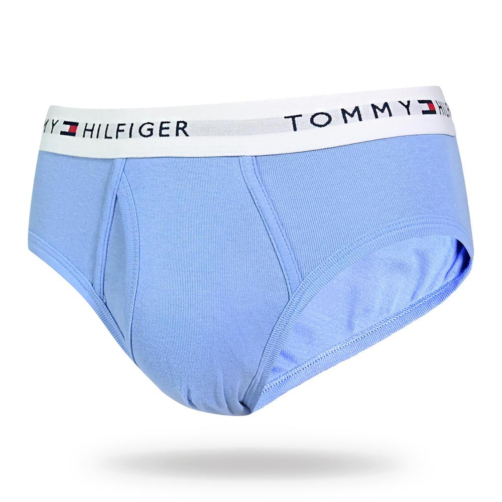 Tommy Hilfiger Cotton Classics 男內褲 經典款棉質高彈性三角褲/Tommy內褲-淺藍