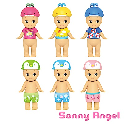 Sonny Angel 繽紛水上樂園泳帽公仔(單入隨機款)