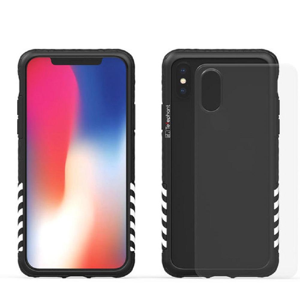 Telephant太樂芬 iPhone 7/8(4.7吋)工業風 防摔手機殼