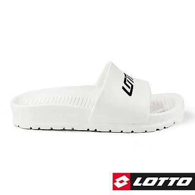 LOTTO 義大利 VENICE 輕量拖鞋 (白)