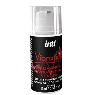 巴西Intt Vibration 跳跳糖感 爆跳式高潮液 17ml (草莓 可口交)