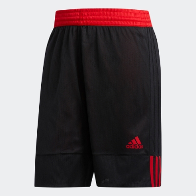 ADIDAS 訓練 健身 慢跑 雙面 運動 短褲 男款 黑紅 DY6596 3G SPEED REVERSIBLE SHORTS