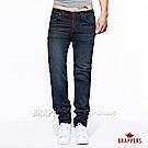 BRAPPERS 男款 HM中腰系列-中腰彈性直筒褲-深藍