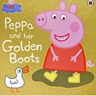 Peppa And Her Golden Boots 佩佩豬和她的金色套鞋平裝繪本