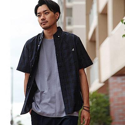 KANGOL聯名款短袖襯衫(10色) ZIP日本男裝