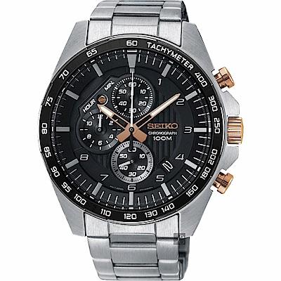 SEIKO精工 CS 重裝計時手錶(SSB323P1)-44mm