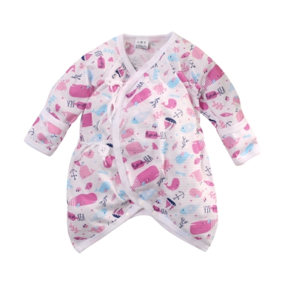 台灣製嬰兒薄款護手蝴蝶衣 k51305 魔法Baby