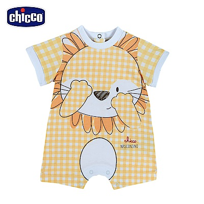 chicco-動物之森-後開短袖兔裝