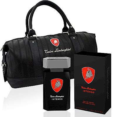 Lamborghini Intenso極致能量男性淡香水125ml-贈同品牌旅行袋