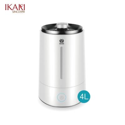 宜家利 上加水超聲波抗菌液專用霧化加濕器4L IK-1000