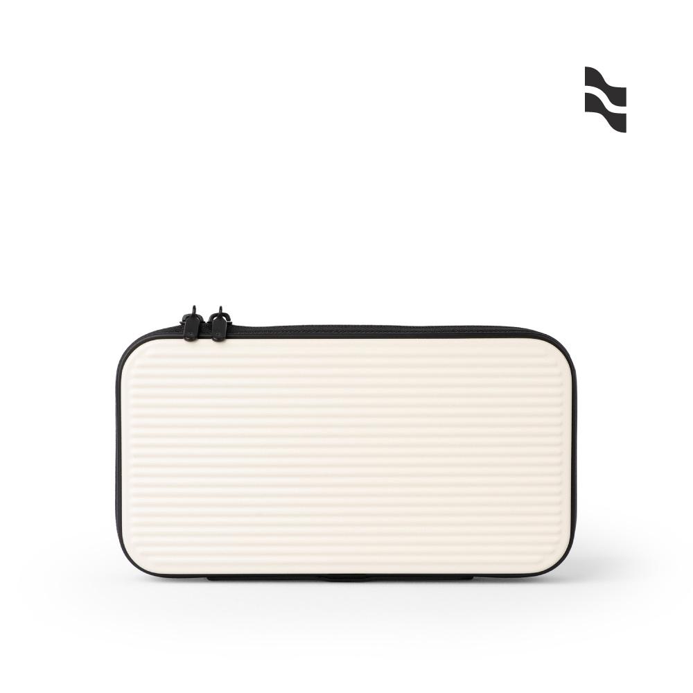 LOJEL Travel Organizer 硬殼盥洗包 化妝包 收納包 白色