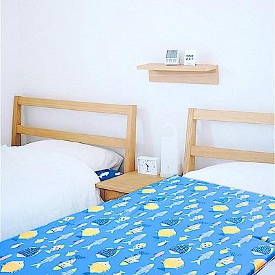 晴天媽咪 可拆洗舒柔雙布單人三折床墊  3x6尺 1入-兩色可選