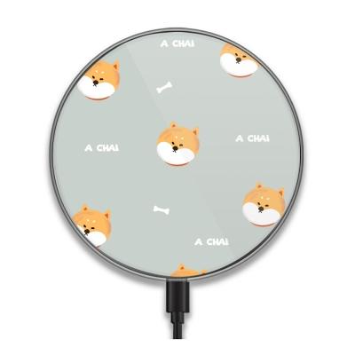 【TOYSELECT】Chubby大頭柴犬系列無線充電盤