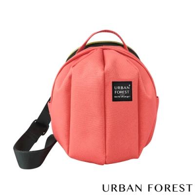 URBAN FOREST都市之森 甲蟲-迷你斜背包/斜肩包 火烈鳥粉