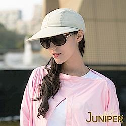 JUNIPER 女款抗UV紫外線防曬空心遮陽兩用帽