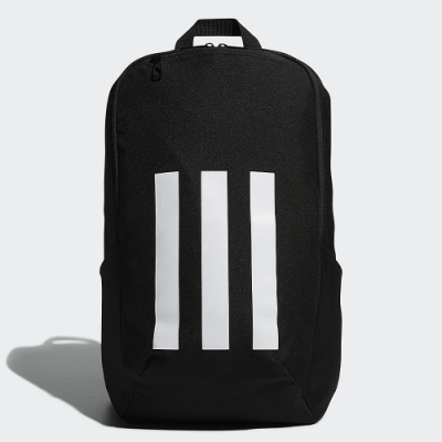 ADIDAS 後背包 運動 筆電包 黑 FM6814 3-Stripes