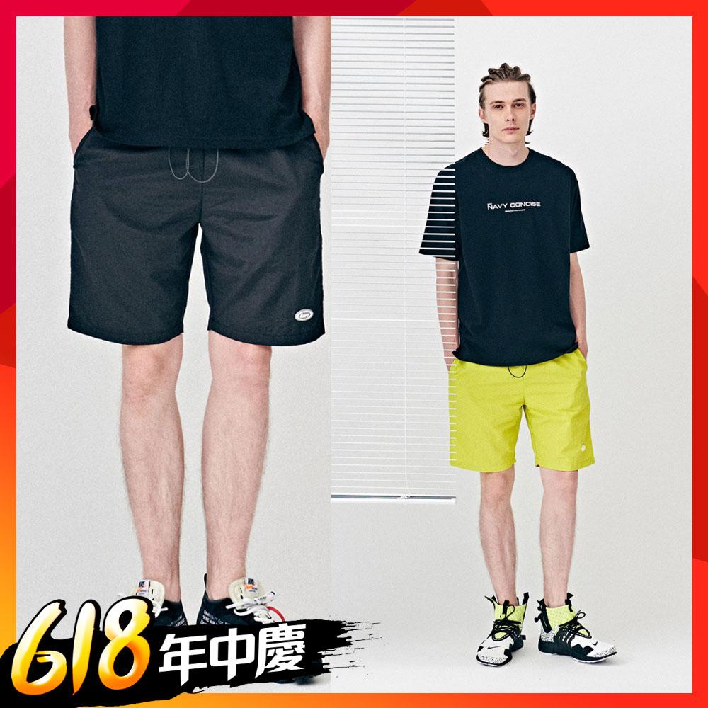 【時時樂限定】NAVY-NC風衣布短褲(兩色)