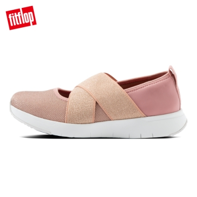 FitFlop SPORTY CROSS-OVER BALLERINAS休閒鞋-女(玫瑰褐)