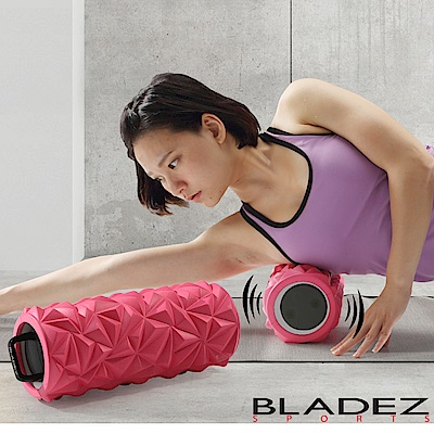 【BLADEZ】MR2摩動輪3速深層震動滾筒-桃紅色