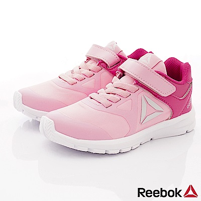 Reebok頂級童鞋 經典簡約運動鞋款 FO441粉(中小童段)