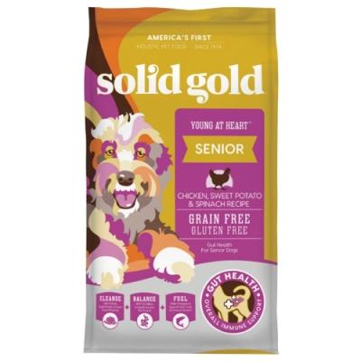 Solid gold速利高-青春無敵-老犬、低活動量超級寵糧 24LBS/10.88KG