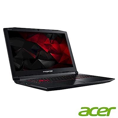 Acer PH317-54-731U 17吋電競筆電(i7-10750H/RTX2060/16G/512G SSD/Predator/黑)