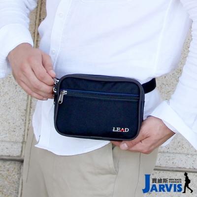 Jarvis賈維斯 萬用腰包 側肩背旅遊商務隨身包-方形