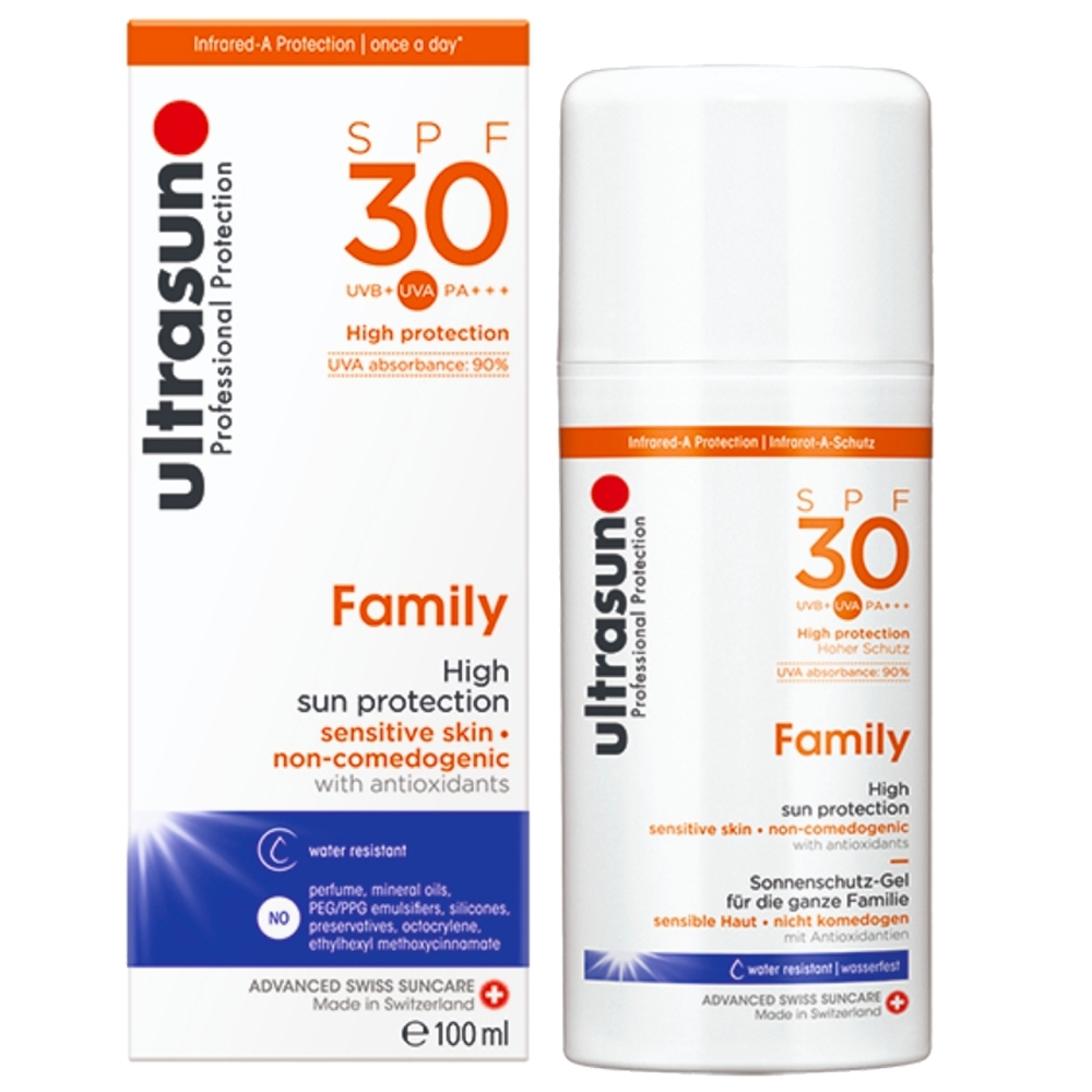 Ultrasun優佳 倍護水感防曬乳SPF30 PA+++(100ml/罐)