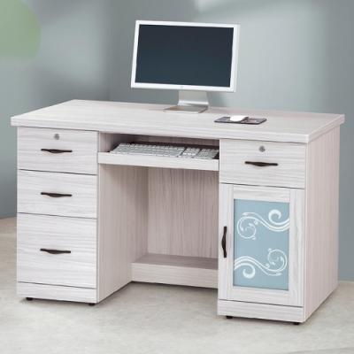 AS-洛伊絲4.2尺電腦桌-126x60x81cm