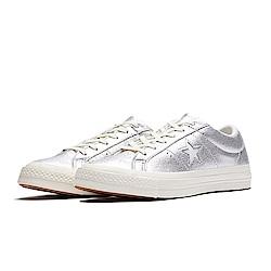 CONVERSE-ONE STAR女休閒鞋161590C-銀