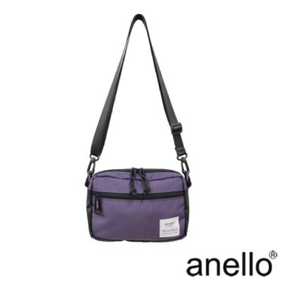anello 休閒輕量斜背包  紫色
