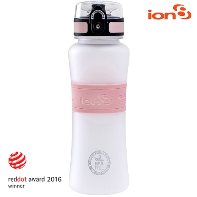 ION8 Ultimate運動休閒水壺I8550【Ice & Rose白粉色】