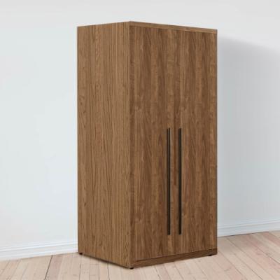 D&T 德泰傢俱 DINO清水模風格2.7尺單吊衣櫃-80x57x202cm